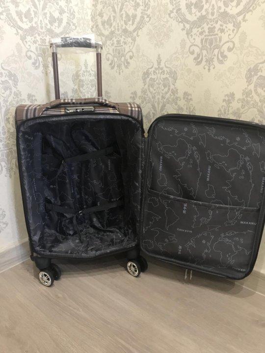 7338d0cb7942 Новый чемодан на 4 колёсах – купить в Екатеринбурге, цена 1 800 руб ...