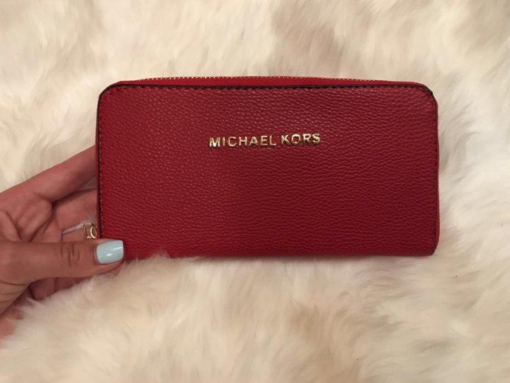 6f1c0693b834 новый кошелек Michael Kors копия – купить в Москве, цена 1 200 руб ...