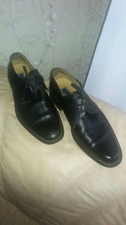 d44465410 Туфли (ботинки) мужские 43р – купить в Санкт-Петербурге, цена 700 ...
