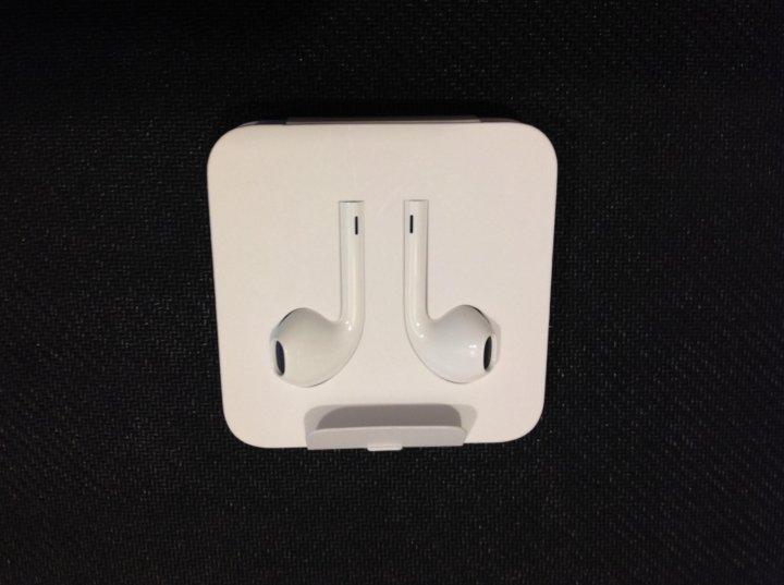 новые проводные наушники Apple Earpods Lightning купить цена 1