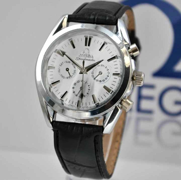 e3946bde38c9 Мужские механические часы Omega – купить в Москве, цена 1 990 руб ...