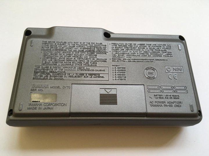 Синтезатор / Секвенсор Yamaha QY70 (Made in Japan) – купить в Москве