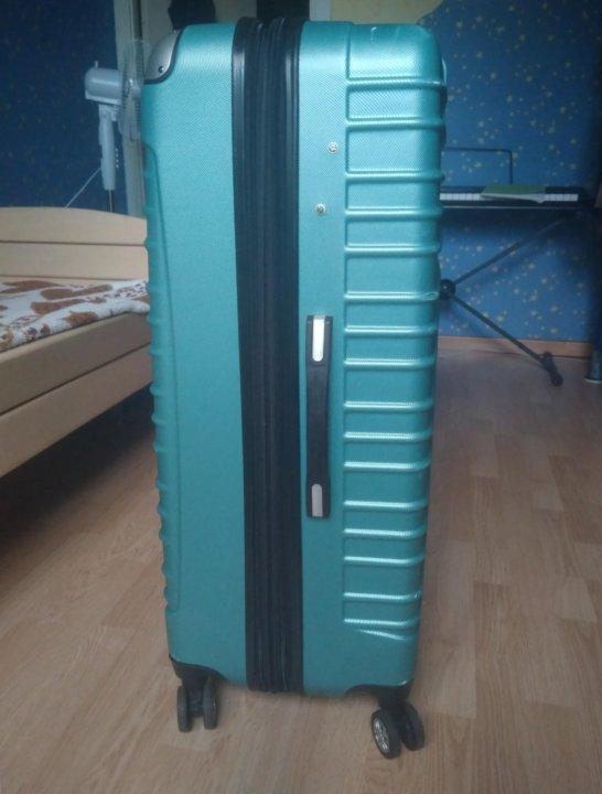 8a8a94508ddd Большой чемодан на колесах Dejuno – купить в Екатеринбурге, цена 4 ...