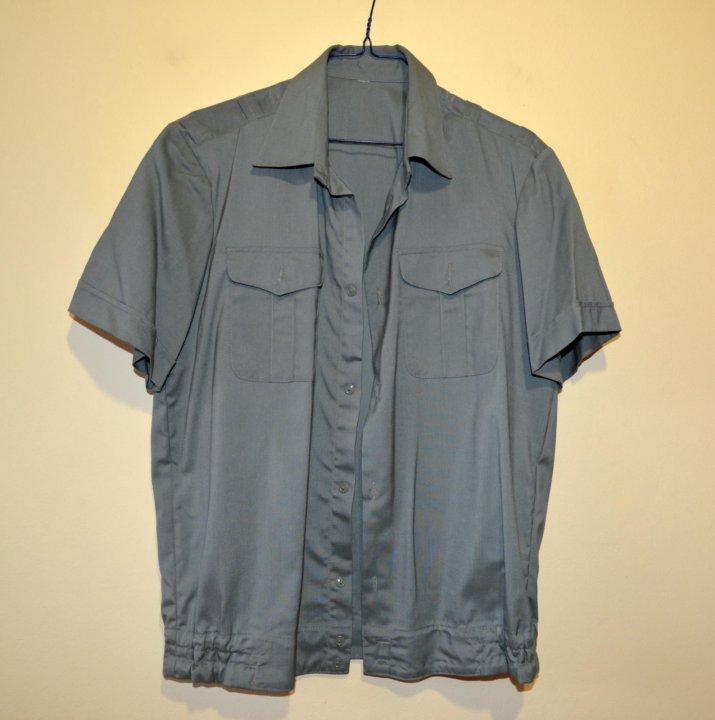 084f8d9cfeb Рубашка форменная защитного цвета мужская новая. Фото 1. Калининград.