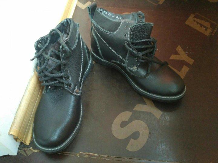 587a6e53c Зимняя обувь для мальчика-подростка – купить в Москве, цена 500 руб ...