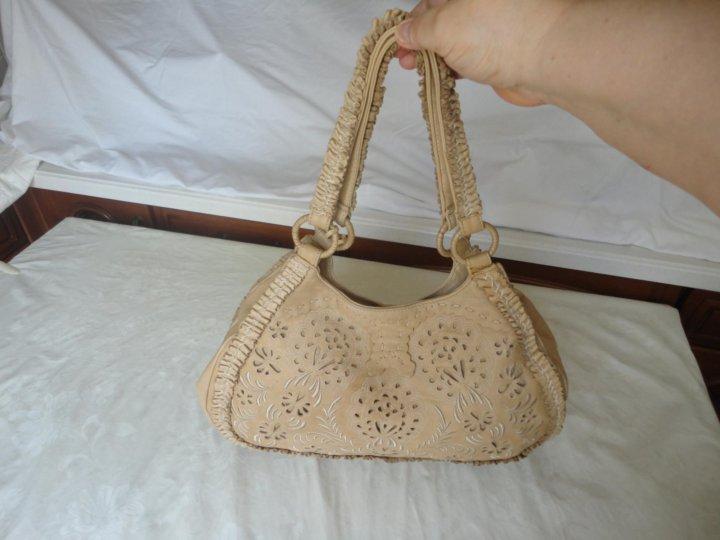 0cb6fb225dad Новая нат.кожа женская сумка «TOSCA BLU» – купить в Москве, цена 1 ...