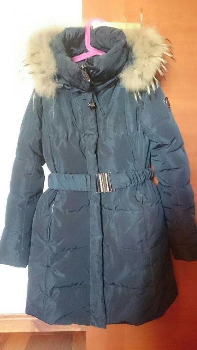 c0fc1523a71 Детское зимнее пуховое пальто для девочки. Фото 1.
