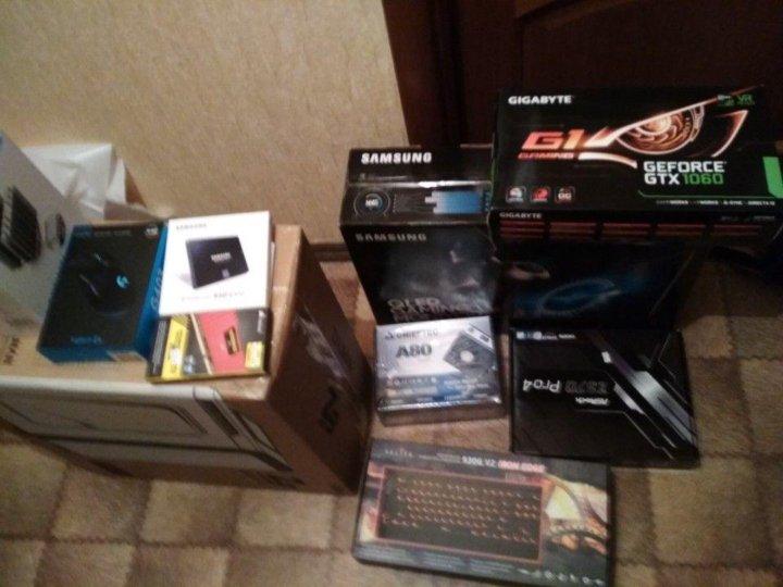 Супер игровой компьютер Core i7-8700K+GTX 1060 6GB – купить в Москве