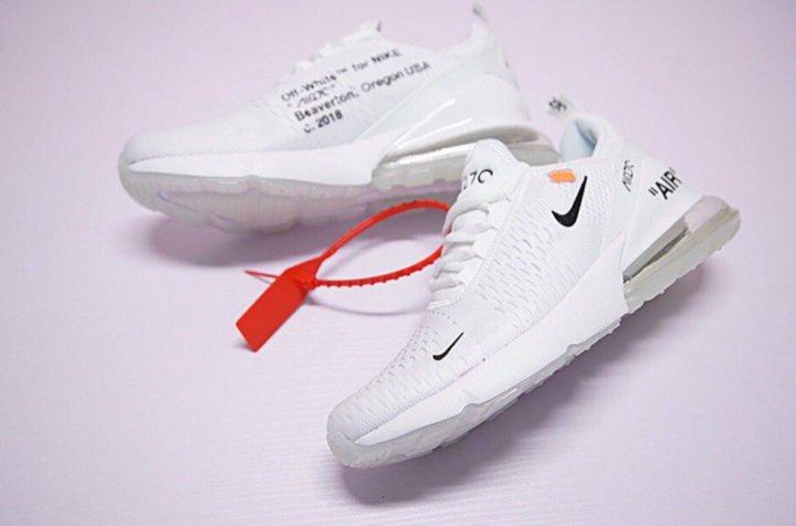 7fcaf52fe96a Nike air max 270 x off white – купить в Москве, цена 3 990 руб ...