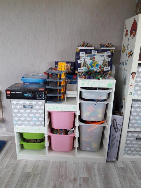 стеллаж детский икеа труфаст купить в гатчине цена 4 600 руб
