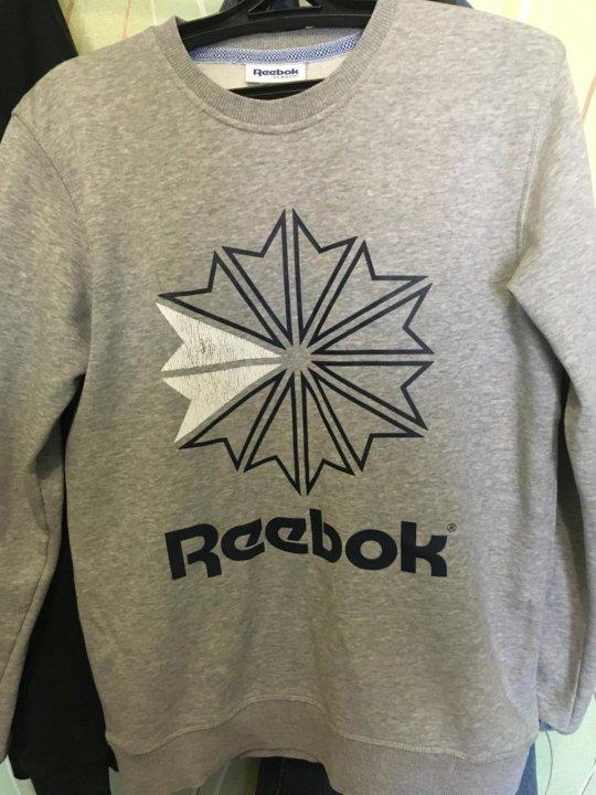 Толстовка мужская Reebok Classic – купить в Омске, цена 1 200 руб ... 3419f6b9524