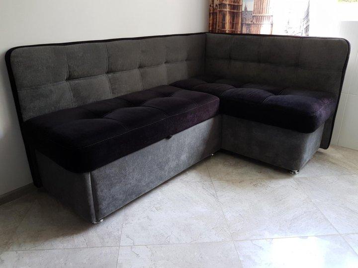 угловой диван на кухню со спальным местом бу купить в москве