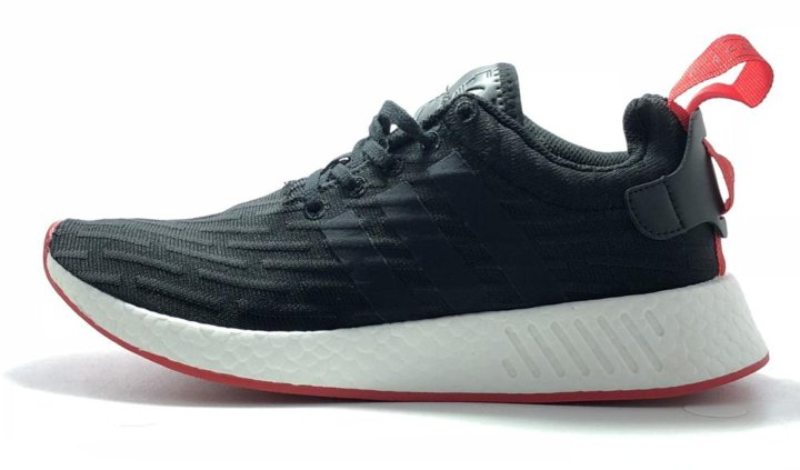 964ce08dbbb3 Adidas NMD R2 PK Black White Red Men – купить в Москве, цена 2 500 ...