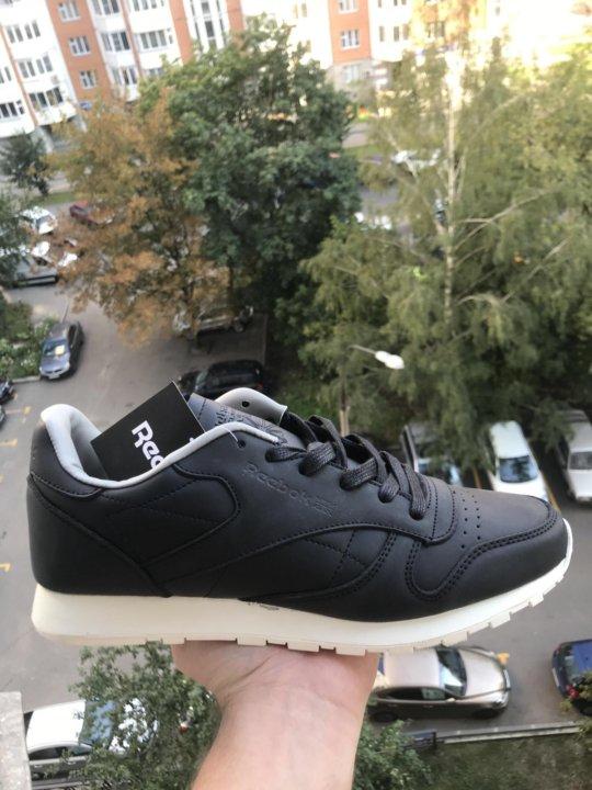 Кожаные кроссовки Reebok🇬🇧 Classic Lux PW(41-45) – купить в Москве ... a0f6ed98e9582