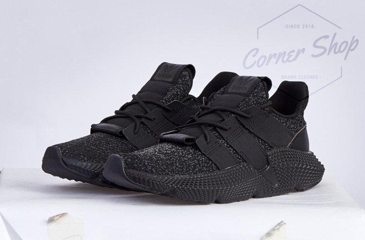 1f8489ebff0971 Кроссовки adidas prophere core black. Фото 1.