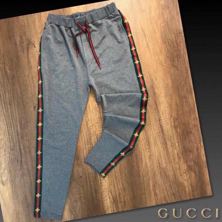 129d30c2f108 Спортивные брюки Gucci Гуччи новые.Серые – купить в Санкт-Петербурге ...