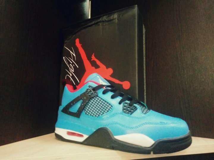650822ba9337 Nike Jordan 4 Retro x Travis Scott – купить в Санкт-Петербурге, цена ...