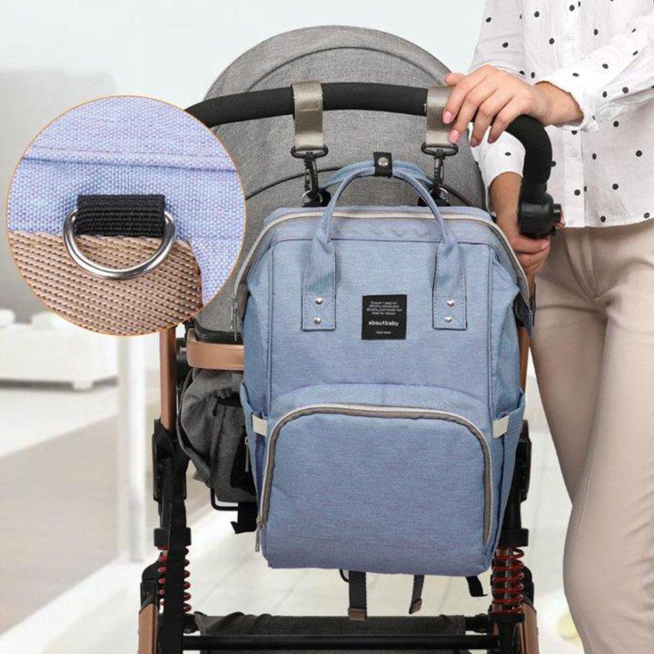 88e97371be01 Сумка-рюкзак для мам с usb и ремешком для коляски – купить в Москве ...