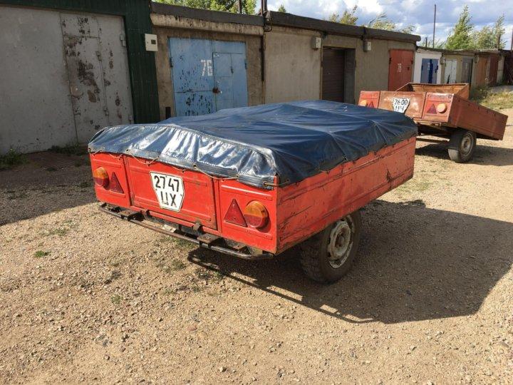 504e5b7208b1 Легковой прицеп ММЗ 81021 – купить в Красноярске, цена 20 000 руб ...