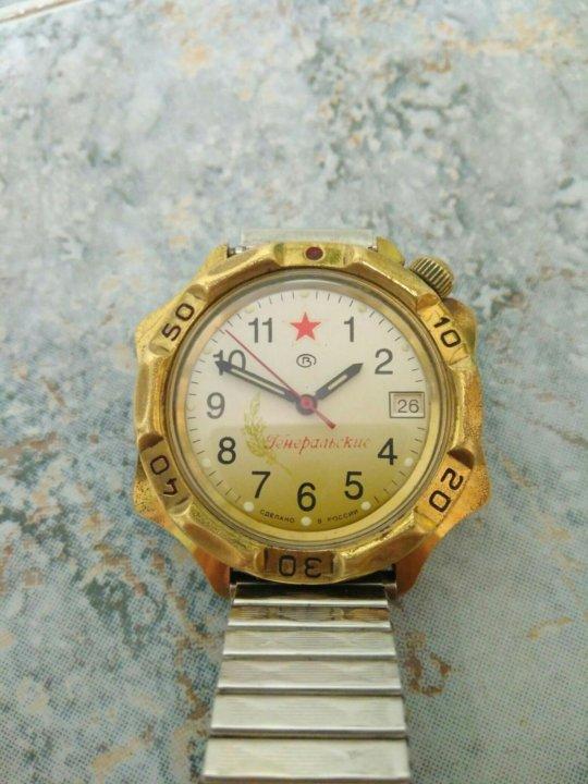 Продам часы генеральские часы стоимость rado мужские