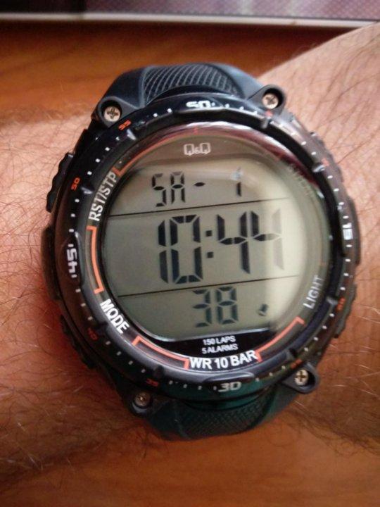 d5c6802a Часы QQ water resistant 10bar – купить в Москве, цена 650 руб ...
