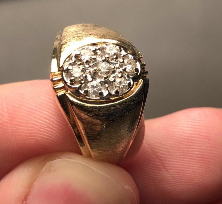 Перстень мужской золотой – купить в Москве c3fa20c691fb2