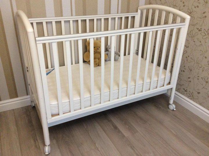 e2b3e49c75c Кроватка детская Pali Ciak (Пали Чак) белая – купить в Реутове