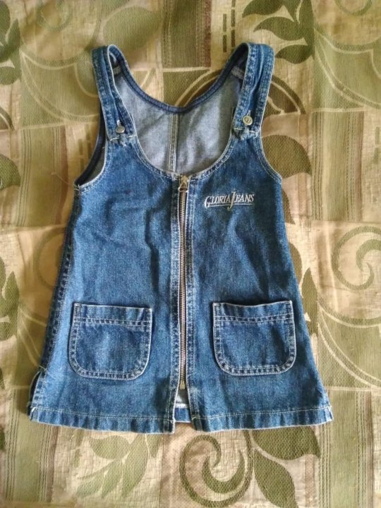 259bc5de065 Сарафан джинсовый детский 3-4 года – купить в Якутске