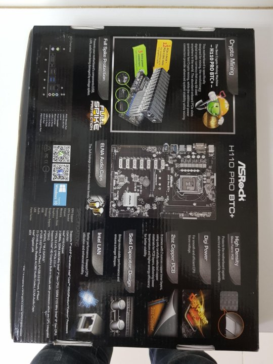asrock h110 btc motherboard cryptocurrency