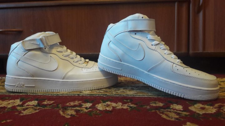 d01921b4 Кроссовки Nike air force 1 на меху – купить в Москве, цена 3 000 руб ...