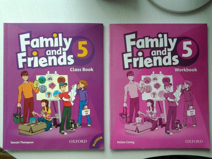 гдз по английскому family and friends 4 учебник