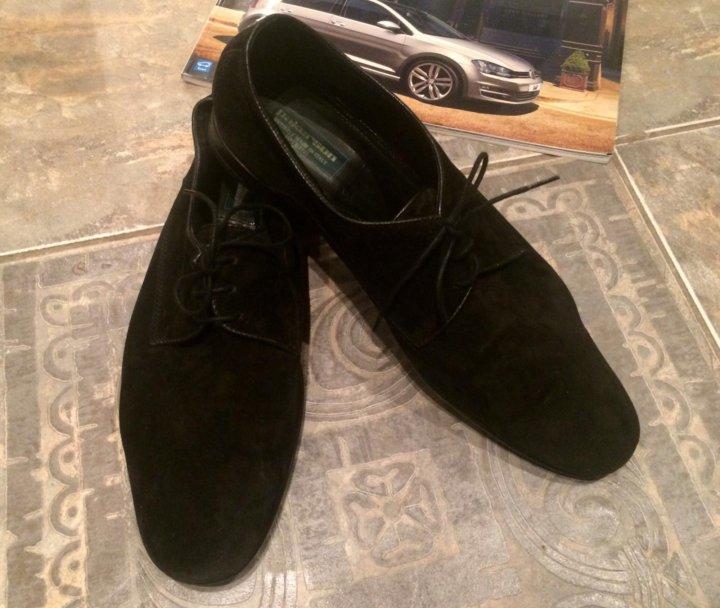 ab20b44926e2 Мужские чёрные туфли Pakerson (оригинал) – купить в Москве, цена 4 ...