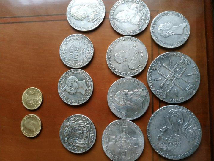 парусник фото китайских копий царских монет всё