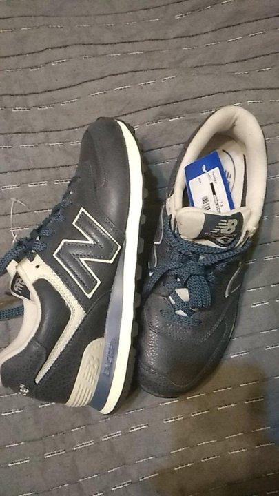 Кроссовки New Balance 574 leather (40-40 0846bb7b542d5