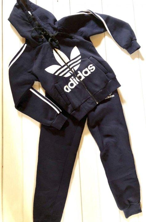 65214c82 Спортивный костюм adidas утеплённый – купить в Сочи, цена 1 000 руб ...