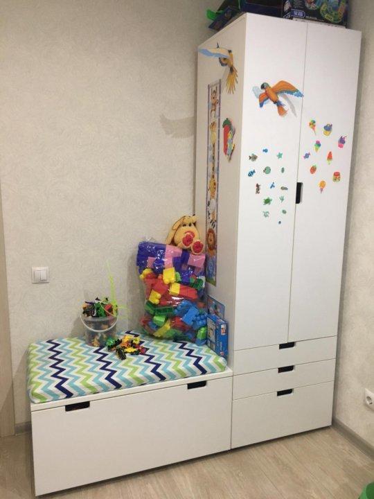 детский шкаф с ящиком стува икеа икея Ikea купить в красноярске