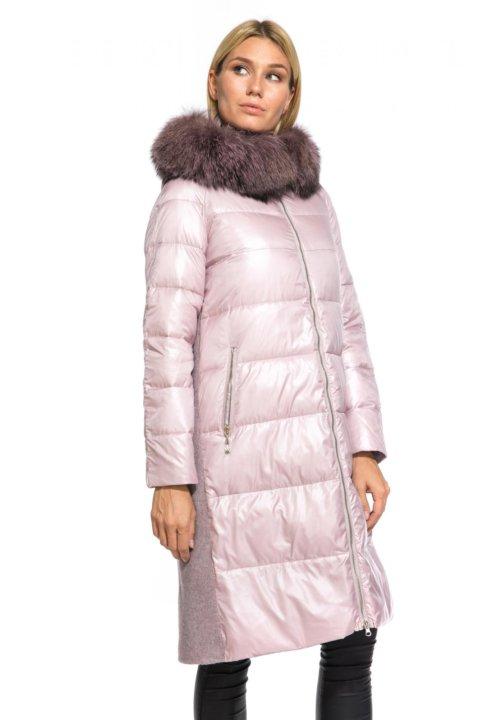 bcf5e26790d Пальто зимнее с мехом чернобурки новое р.44 – купить в Москве