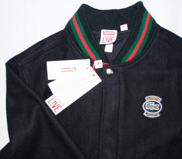 Куртка Supreme Lacoste – купить в Москве, цена 14 000 руб., дата ... 42b36333e61