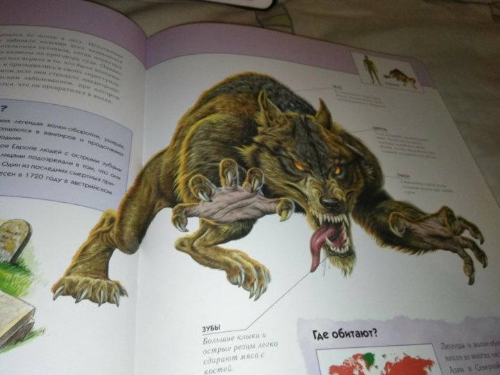 Картинки книги фантастические существа