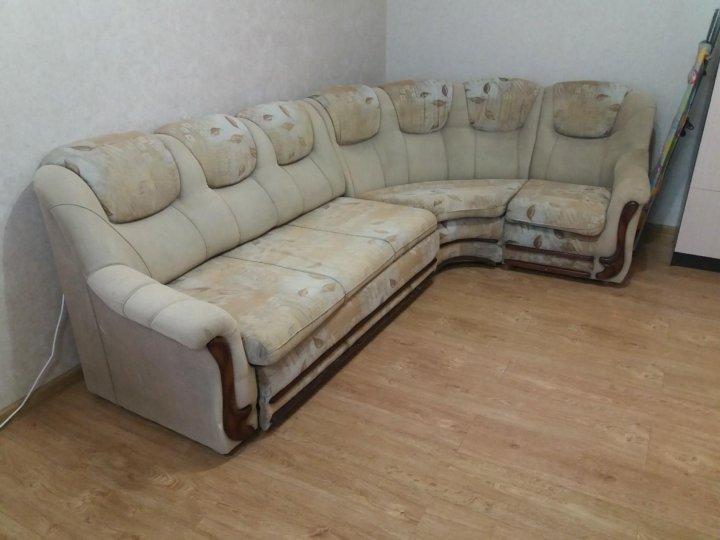 большой угловой диван с креслом купить в краснодаре цена 5 500