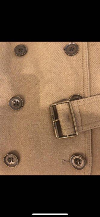 4faa150dc3a4 Пальто Burberry ( оригинал) – купить в Москве, цена 30 000 руб ...