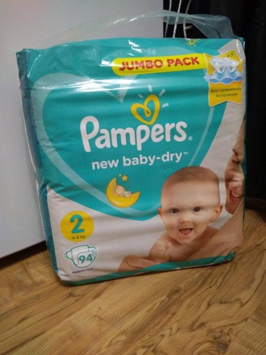 Pampers new baby-dry – купить в Челябинске, цена 800 руб., продано ... 7c53b44bbd9