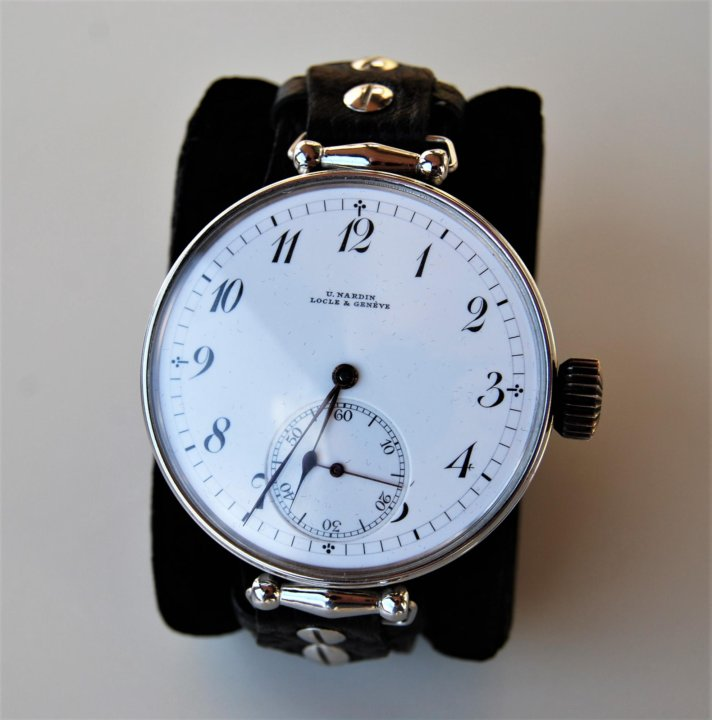 Часы наручные мужские антикварные ULYSSE NARDIN – купить в Москве ... 7f02a9653d3