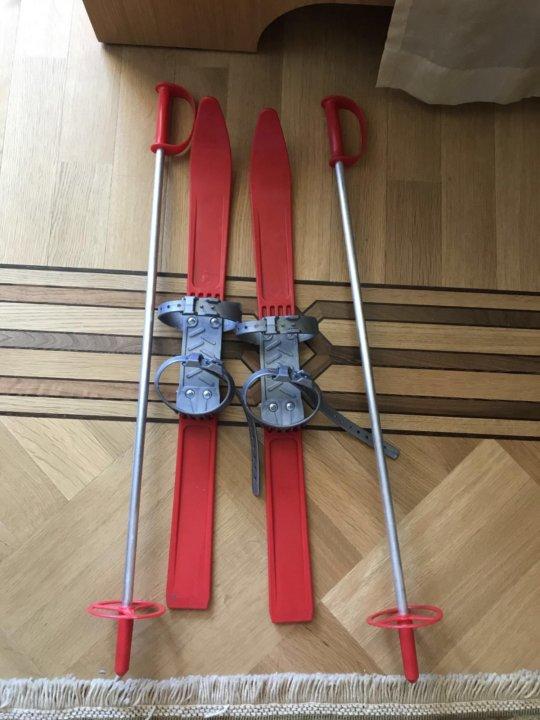 11e3ea4928fe Детские лыжи 1-2 класс – купить в Москве, цена 300 руб., продано 14 ...
