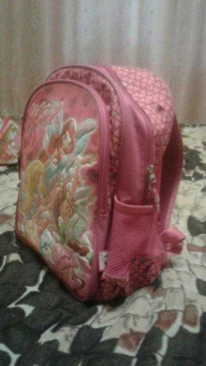 046cf1e513b7 Школьный рюкзак Винкс. – купить в Самаре, цена 500 руб., истекает ...