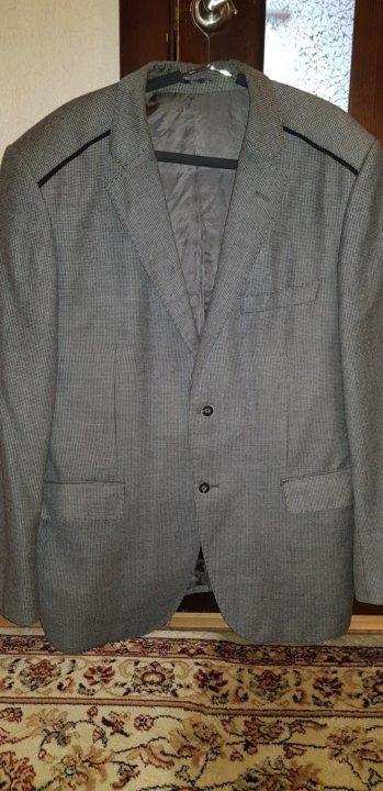 Пиджак мужской 56 – купить в Красноярске, цена 5 000 руб., дата ... a862783a67c