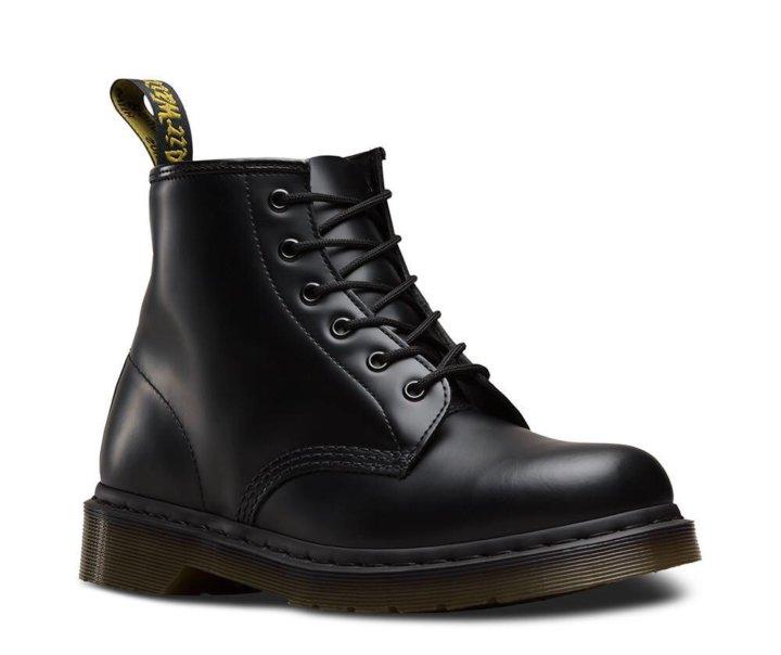 Ботинки Dr. Martens 101 Smooth Black мужские. – купить в Москве ... 1908cf766e2e3