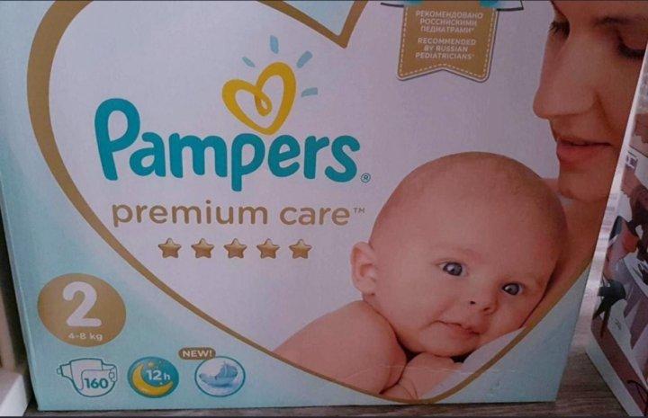 fde1aab347b8 Подгузники Pampers Premium Care 2. 4-8кг 160шт – купить в Челябинске ...