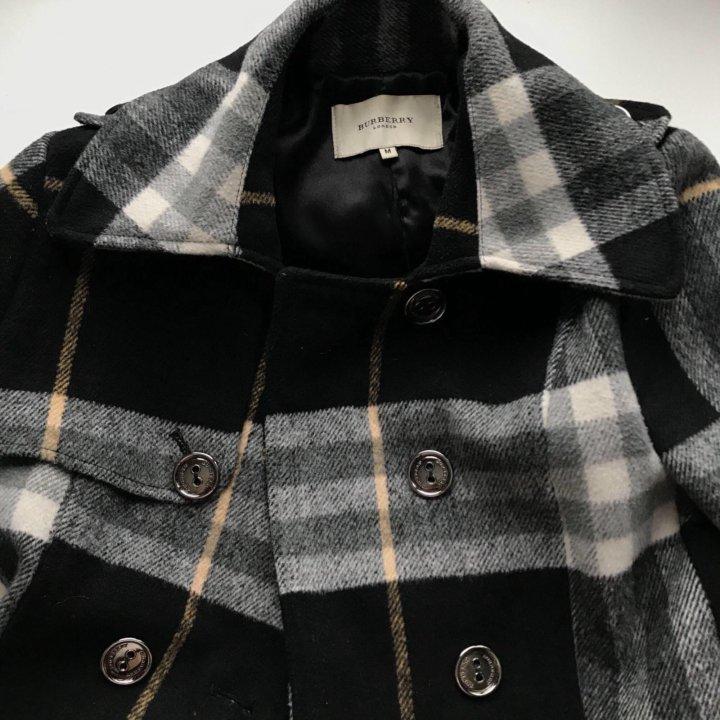 fcb63666cf47 пальто burberry оригинал шерсть – купить в Москве, цена 3 000 руб ...