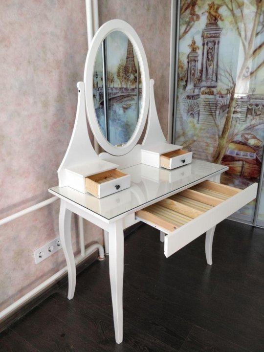туалетный столик с зеркалом Ikea хемнэс купить в томске цена 10
